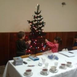 príprava na vianočnú besiedku 2014